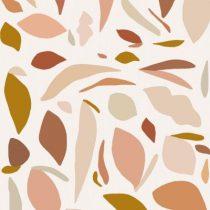 Bibelotte wallpaper behang fruitig roze