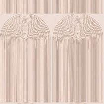 Bibelotte wallpaper behang regenbogen roest