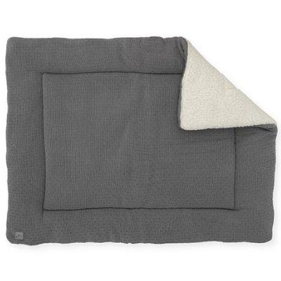 Jollein boxkleed Bliss Knit storm grey