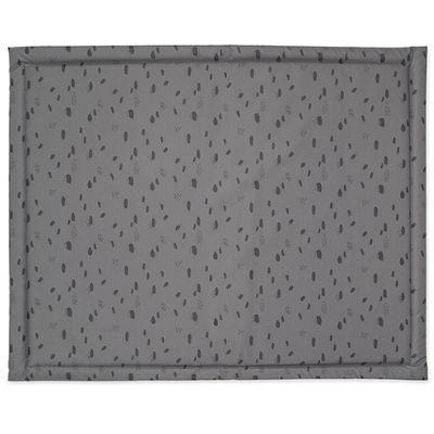 Jollein boxkleed gecoat Spot storm grey