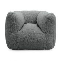 Jollein fauteuiltje beanbag zitzak teddy storm grey