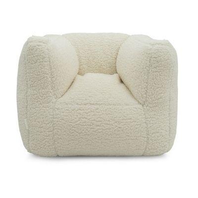 Jollein fauteuiltje beanbag zitzak teddy cream white