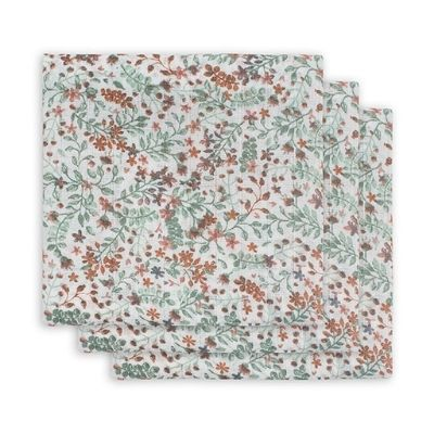 Jollein hydrofiele doeken Bloom 3 pack