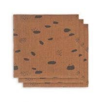 Jollein hydrofiele doeken Spot caramel 3 pack