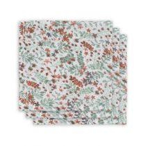 Jollein hydrofiele monddoekjes Bloom 3 pack