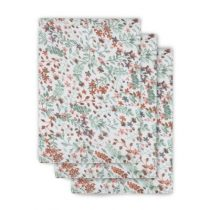 Jollein hydrofiele washandjes Bloom 3 pack