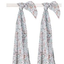 Jollein swaddledoeken large Bloom 2 pack