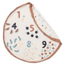 Play & Go opbergzak en speelkleed Veggie Numbers