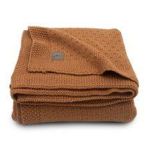Jollein deken Bliss knit caramel 75x100cm