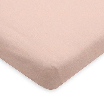 Jollein hoeslaken ledikant jersey pale pink