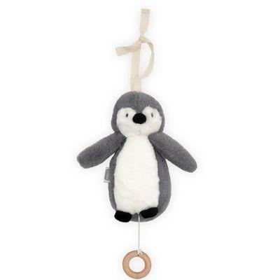 Jollein muziekdoosje Pinguin storm grey