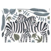 Lilipinso Tanzania muursticker XL zebra