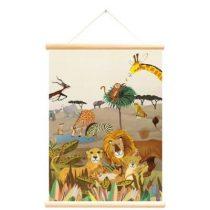 Little and Pure poster praatplaat Bosdieren Grootzus Wilde dieren