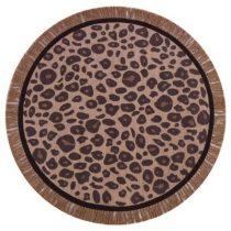 Tapis Petit vloerkleed rond Leopard