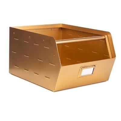 Kidsdepot Original metalen bak goud