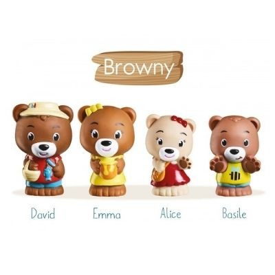 Klorofil speelset familie Browny