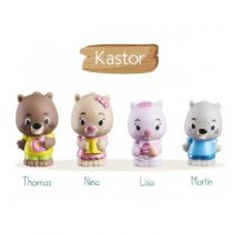 Klorofil speelset familie Kastor