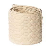 Sebra bedbumper quilted straw beige