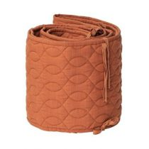 Sebra bedbumper quilted sweet tea brown