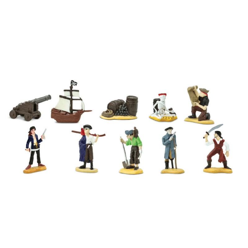 Safari LTD speelfiguurtjes Piraten koker