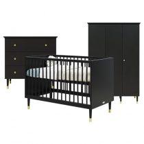 Bopita Cloë 3-delige babykamer Mat zwart