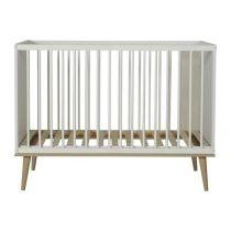 Flow bed 120x60 cm White & Oak 1