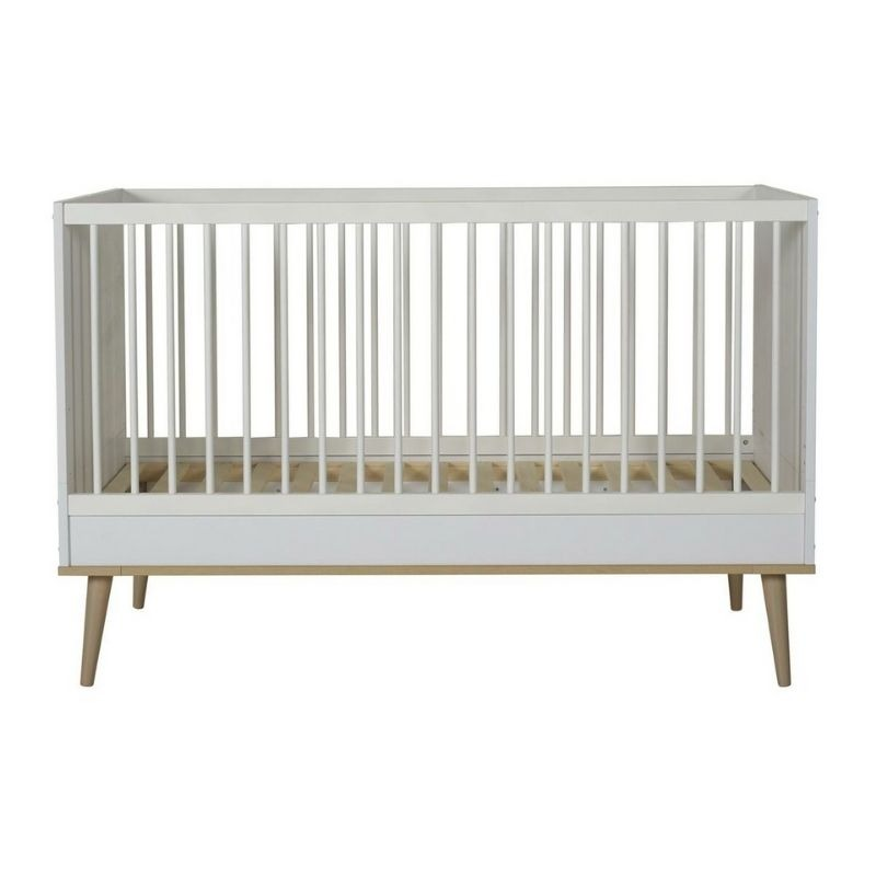 Flow bed 140x70 cm White & Oak 1