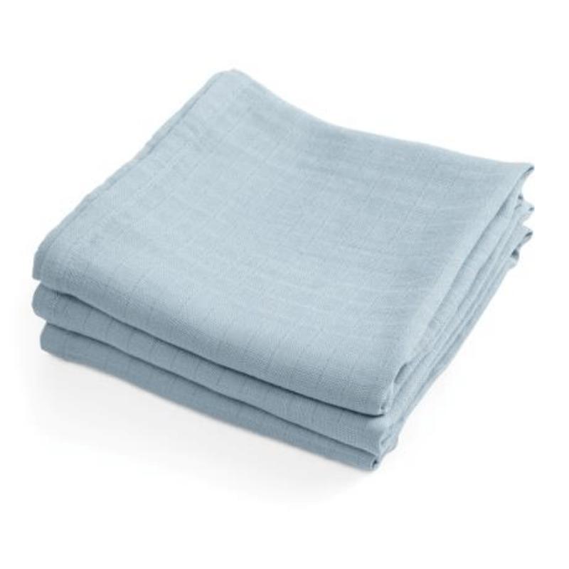 Sebra hydrofiele doeken powder blue