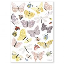 Lilipinso sticker Vlinders en insecten
