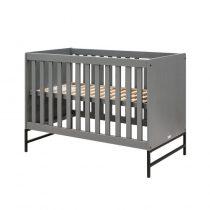 Bopita ledikant 60x120 Milo steel grey