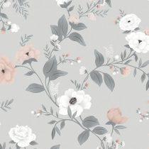 Lilipinso behang Symphony of roses grey