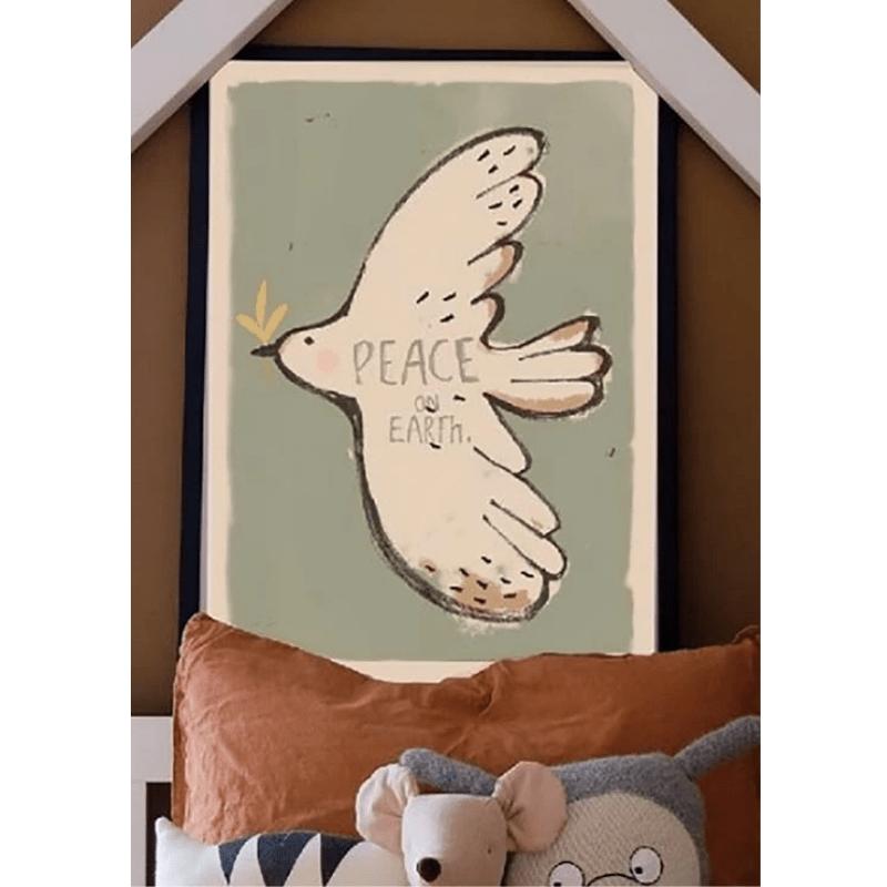 Studio Loco poster vogel 50x70cm